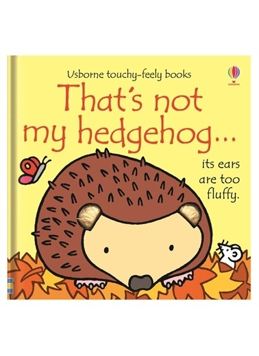 The Usborne The Usborne That's Not My Hedgehog Beyaz